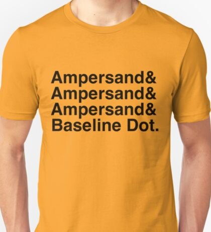 The Ampersands T-Shirt