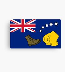 New Australia Flag Canvas Print