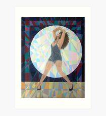 Prismatic Tina Turner Art Print