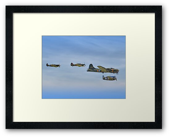 Sally B And Eagle Squadron - Duxford 26.05.2013 by Colin  Williams Photography