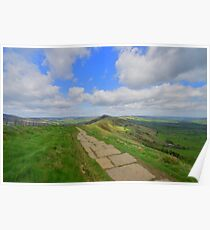 The Peak District: Along the Great Ridge Poster
