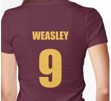 Weasley 9 Top Womens Fitted T-Shirt