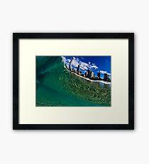 Swimmers Paradise Framed Print