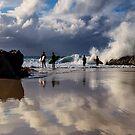 Snapper Rocks by D Byrne