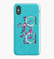 Butterfly Bicycle iPhone Case