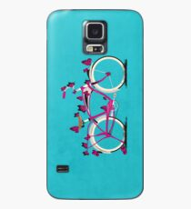 Butterfly Bicycle Case/Skin for Samsung Galaxy