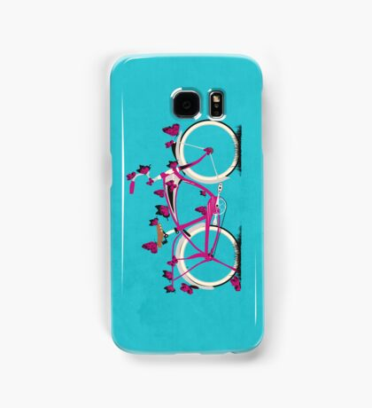 Butterfly Bicycle Samsung Galaxy Case/Skin