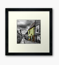 Mews Cottage York Framed Print