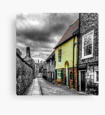 Mews Cottage York Canvas Print