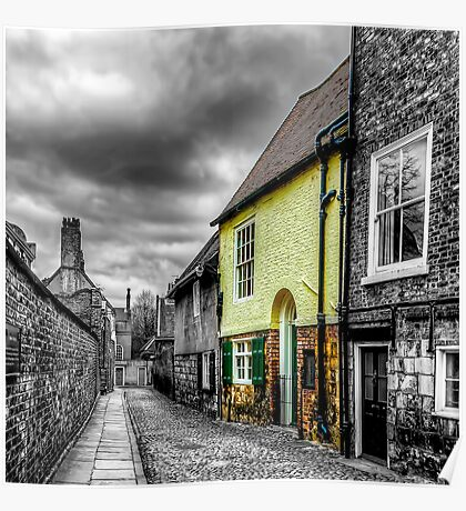 Mews Cottage York Poster