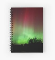 A Very Colorful Night Spiral Notebook