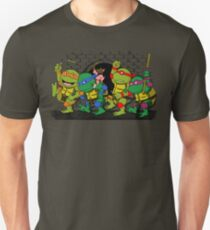 Where the wild turtles are Unisex T-Shirt