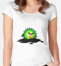 Universal Unbranding - Angry BP Women's Fitted Scoop T-Shirt