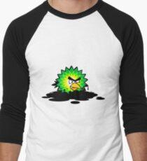 Universal Unbranding - Angry BP Men's Baseball ¾ T-Shirt