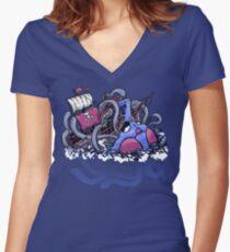 A Cruel Fate Women's Fitted V-Neck T-Shirt