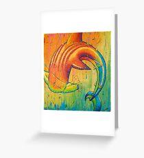 The Universal Hammerhead  Greeting Card