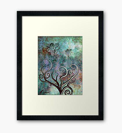 Freedom of love  Framed Print