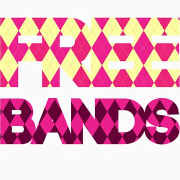 Free Bands [Pink] | Fresh TS by FreshThreadShop