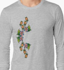 simple floral Long Sleeve T-Shirt