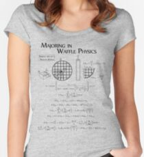 Waffle Mathematics Women's Fitted Scoop T-Shirt
