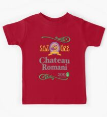 Chateau Romani (Dark Shirt) Kids Tee