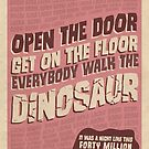 Everybody Walk The Dinosaur by swashandfold