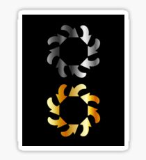 Abstract arrows Sticker