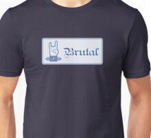 Brutal Button Unisex T-Shirt