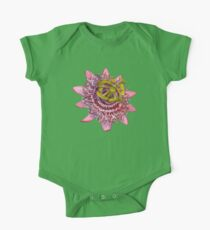 D1G1TAL-M00DZ ~ FLORAL ~ Passiflora by tasmanianartist for Karl May Friends One Piece - Short Sleeve