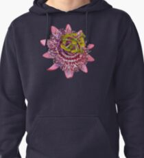 D1G1TAL-M00DZ ~ FLORAL ~ Passiflora by tasmanianartist for Karl May Friends Pullover Hoodie