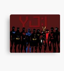 YJ:I New Team Canvas Print