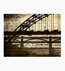 Newcastle Keywords Photographic Print