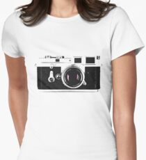 Vintage Camera Women's Fitted T-Shirt