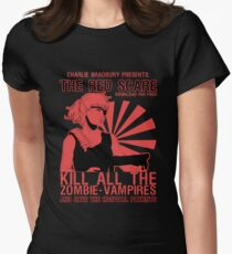 The Red Scare (1) Womens Fitted T-Shirt