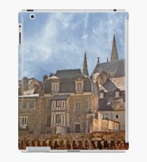 Ramparts de Vannes Brittany France iPad Case/Skin