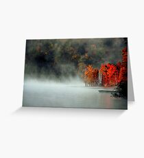 Fog and Fire Greeting Card