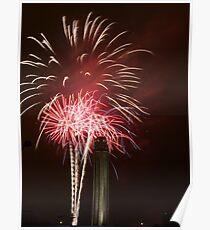 "Fireworks at ""Celebration At The Station"" Poster"