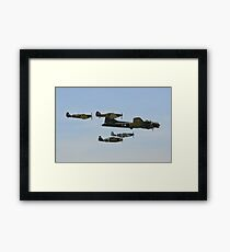 Sally B and 'Eagle Squadron' Framed Print