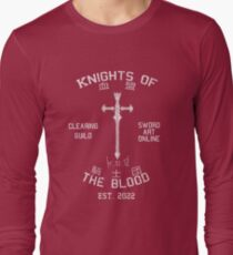 Knights of the Blood Guild Shirt Long Sleeve T-Shirt