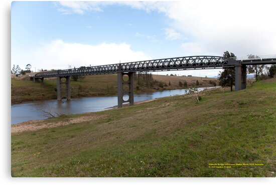 Elderslie Bridge over Hunter River, NSW Australia by SNPenfold
