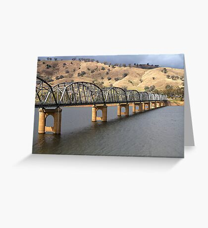Bethanga Bridge Lake Hume NSW Greeting Card