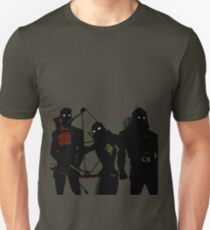 The Arrowfam in Young Justice Unisex T-Shirt