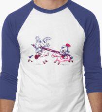 Knostalgic Knights Men's Baseball ¾ T-Shirt
