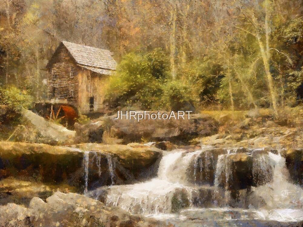 Glade Creek Grist Mill by JHRphotoART