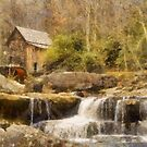 Glade Creek Grist Mill by JHRphotoART