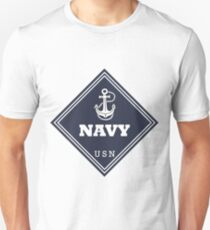 WW2 American Navy Shipping Placard Slim Fit T-Shirt