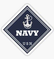WW2 American Navy Shipping Placard Sticker