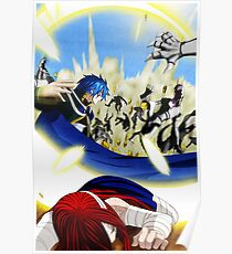 Fairy Tail Chapter 331- Jellal saves Erza Poster