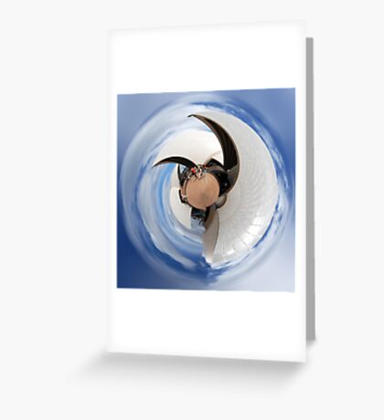 Curves of Sydney Opera House Greeting Card