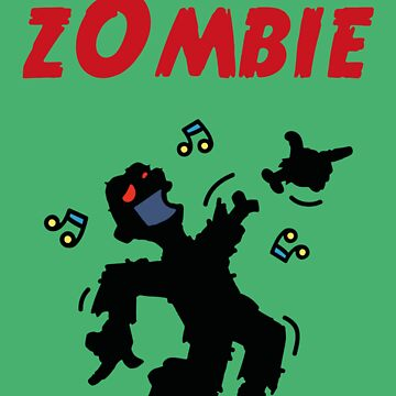 Dancing zombie loses his hand by chrisbears